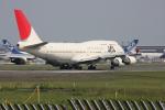 airdrugさんが、成田国際空港で撮影した日本航空 747-446の航空フォト(写真)
