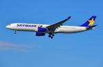 はるかのパパさんが、羽田空港で撮影したスカイマーク A330-343Xの航空フォト(写真)