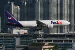 NIKEさんが、香港国際空港で撮影したフェデックス・エクスプレス 777-FS2の航空フォト(写真)