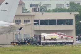 花田花男さんが、名古屋飛行場で撮影した航空自衛隊 T-4の航空フォト(写真)