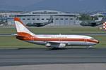 Gambardierさんが、名古屋飛行場で撮影した日本トランスオーシャン航空 737-205/Advの航空フォト(写真)