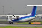 PONPONPONさんが、伊丹空港で撮影したANAウイングス DHC-8-314Q Dash 8の航空フォト(写真)