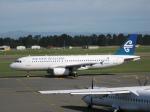 まさうえさんが、クライストチャーチ国際空港で撮影したニュージーランド航空 A320-232の航空フォト(写真)