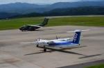 ナナオさんが、石見空港で撮影した航空自衛隊 C-1の航空フォト(写真)