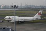 げんこつさんが、羽田空港で撮影した日本航空 747-346の航空フォト(写真)