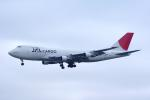 Willieさんが、成田国際空港で撮影した日本航空 747-246B(SF)の航空フォト(写真)