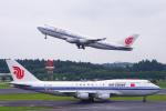 PASSENGERさんが、成田国際空港で撮影した中国国際航空 747-4J6の航空フォト(写真)