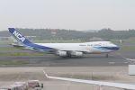紅@修行中さんが、成田国際空港で撮影した日本貨物航空 747-4KZF/SCDの航空フォト(写真)