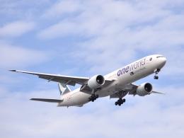 tomo@Germanyさんが、羽田空港で撮影したキャセイパシフィック航空 777-367/ERの航空フォト(写真)