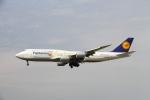 on-chanさんが、フランクフルト国際空港で撮影したルフトハンザドイツ航空 747-830の航空フォト(写真)