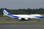 HND Spotter Rei U.さんが、成田国際空港で撮影した日本貨物航空 747-4KZF/SCDの航空フォト(写真)