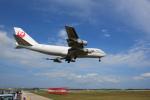 Bogeyさんが、下地島空港で撮影した日本航空 747-221F/SCDの航空フォト(写真)