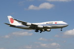 utarou on NRTさんが、成田国際空港で撮影した中国国際航空 747-4J6の航空フォト(写真)