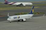 きんめいさんが、中部国際空港で撮影したスカイマーク 737-8HXの航空フォト(写真)