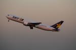 nomalblueさんが、羽田空港で撮影したスカイマーク 767-38E/ERの航空フォト(写真)