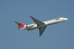 倉庫長さんが、福岡空港で撮影した日本航空 MD-87 (DC-9-87)の航空フォト(写真)