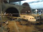シフォンさんが、香港国際空港で撮影したキャセイパシフィック航空 A340-313Xの航空フォト(写真)