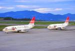 しょうせいさんが、岡山空港で撮影した日本トランスオーシャン航空 737-2Q3/Advの航空フォト(写真)