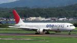 誘喜さんが、出雲空港で撮影した日本航空 767-346の航空フォト(写真)