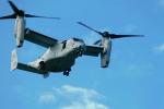 なまくら はげるさんが、厚木飛行場で撮影したアメリカ海兵隊 MV-22Bの航空フォト(写真)