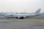 Gambardierさんが、シドニー国際空港で撮影した日本航空 747-338の航空フォト(写真)