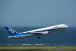 パンダさんが、羽田空港で撮影した全日空 767-381の航空フォト(写真)