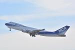 新海元さんが、成田国際空港で撮影した日本貨物航空 747-481F/SCDの航空フォト(写真)