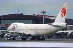 ATOMさんが、帯広空港で撮影した日本アジア航空 747-246Bの航空フォト(写真)