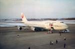 ATOMさんが、帯広空港で撮影した日本航空 747-346の航空フォト(写真)