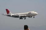 ひらみきさんが、関西国際空港で撮影した日本アジア航空 747-246Bの航空フォト(写真)