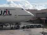 さくら13さんが、グアム国際空港で撮影した日本航空 747-446の航空フォト(写真)