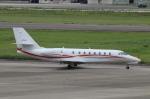 なごやんさんが、名古屋飛行場で撮影した朝日航洋 680 Citation Sovereignの航空フォト(写真)