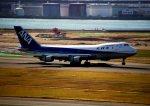 空の旅人さんが、羽田空港で撮影した全日空 747SR-81の航空フォト(写真)