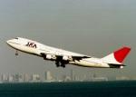空の旅人さんが、羽田空港で撮影した日本アジア航空 747-246Bの航空フォト(写真)