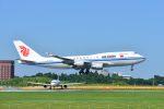 ポン太さんが、成田国際空港で撮影した中国国際航空 747-4J6の航空フォト(写真)