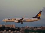 にっしーさんが、那覇空港で撮影したスカイマーク 737-8HXの航空フォト(写真)