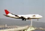 amagoさんが、関西国際空港で撮影した日本航空 747-446の航空フォト(写真)