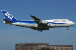 つみネコ♯2さんが、成田国際空港で撮影した全日空 747-481の航空フォト(写真)