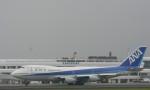 ほっぴー黒柴さんが、鹿児島空港で撮影した全日空 747-281Bの航空フォト(写真)