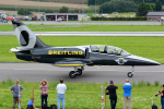 Tomo-Papaさんが、ミリテール・ド・ペイエルヌ飛行場で撮影したブライトリング・ジェット・チーム L-39C Albatrosの航空フォト(写真)