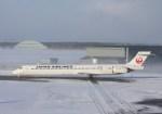 poohさんが、三沢飛行場で撮影した日本航空 MD-90-30の航空フォト(写真)