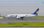 Dreamer-K'さんが、羽田空港で撮影したスカイマーク 737-8HXの航空フォト(写真)