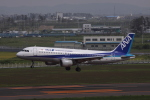 多楽さんが、仙台空港で撮影した全日空 A320-211の航空フォト(写真)