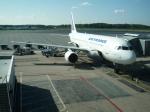 Y.Hさんが、ストックホルム・アーランダ空港で撮影したエールフランス航空 A320-214の航空フォト(写真)