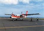 yuenronさんが、礼文空港で撮影したエアー北海道 DHC-6-300 Twin Otterの航空フォト(写真)