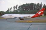 apphgさんが、シンガポール・チャンギ国際空港で撮影したカンタス航空 747-338の航空フォト(写真)