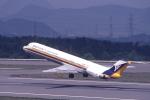toshirouさんが、高松空港で撮影した日本エアシステム MD-81 (DC-9-81)の航空フォト(写真)