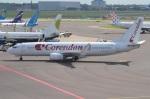 amagoさんが、アムステルダム・スキポール国際空港で撮影したコレンドン・ダッチ・エアラインズ 737-8K2の航空フォト(写真)