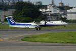 Koenig117さんが、松山空港で撮影したANAウイングス DHC-8-402Q Dash 8の航空フォト(写真)