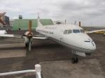 ポカール長田さんが、羽田空港で撮影した国土交通省 航空局 YS-11-104の航空フォト(写真)